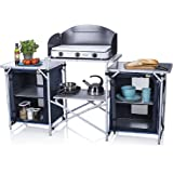 CAMPART Travel KI-0732 - Cocina de camping, color azul