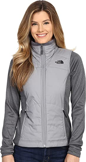 f35988d81 Amazon.com: The North Face Women's Agave Mash-Up Jacket Mid Grey/TNF ...