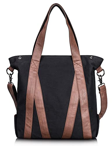 Amazon.com: Leaper Vintage Women Canvas Bag Single Shoulder Bag ...