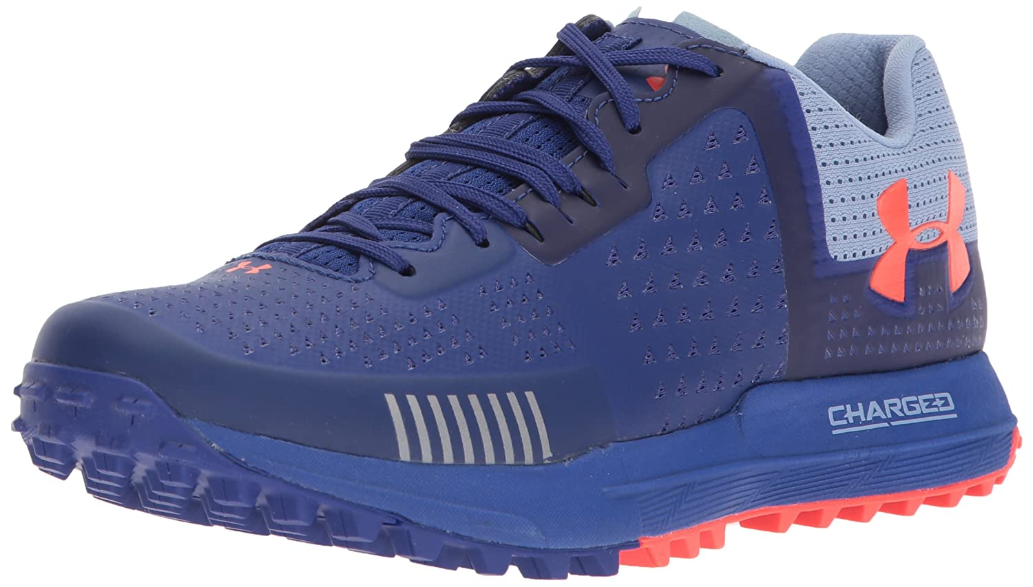 Under Armour Women's Horizon RTT Hiking Shoe B0714DJ9K4 8 M US|Formation Blue (500)/Chambray Blue