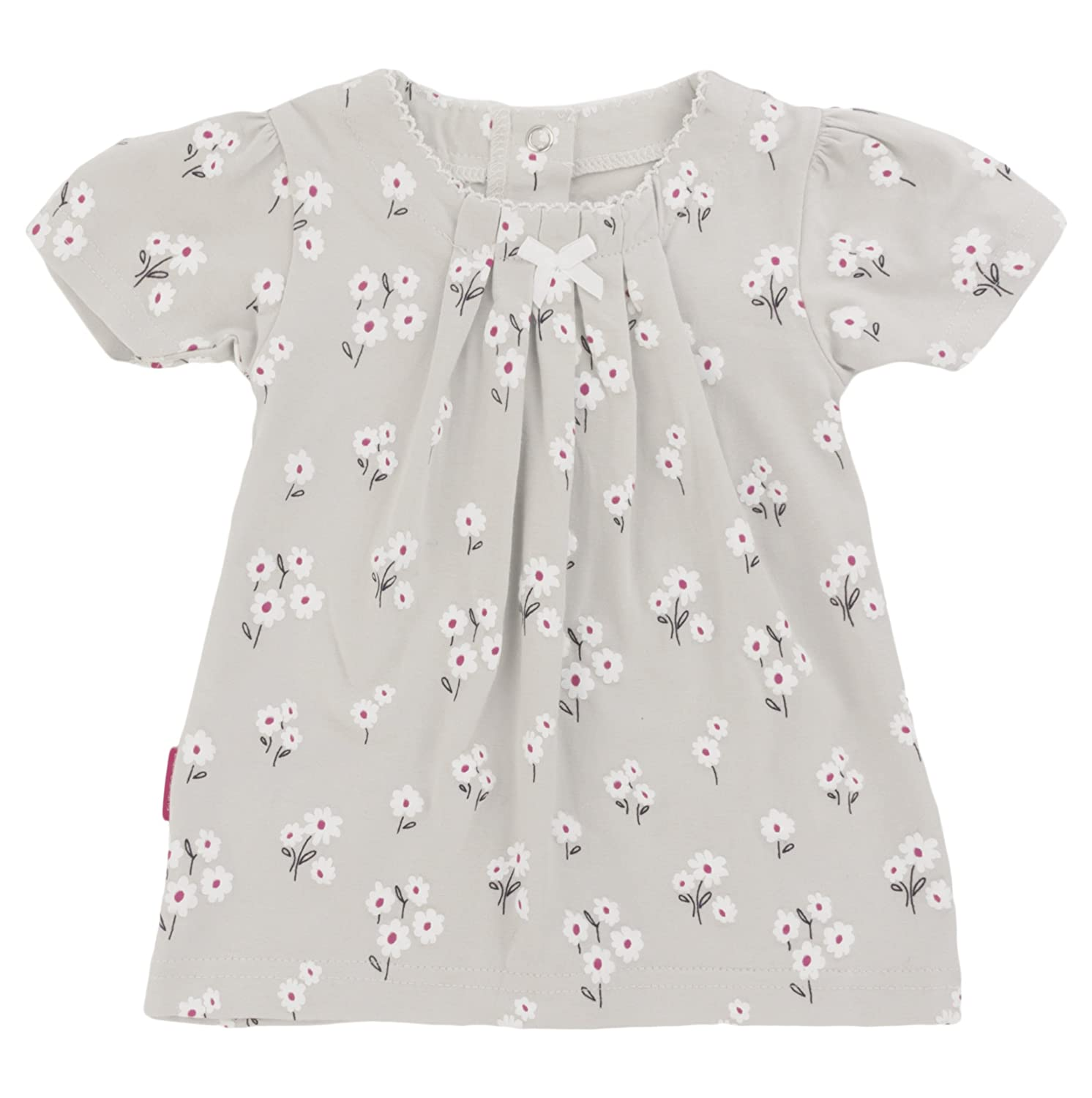 12 Months Blue Banana Baby Girls Dress Grey Print