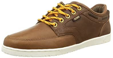 Etnies Dory SMU Mens Leather Trainers Brown - 6 UK