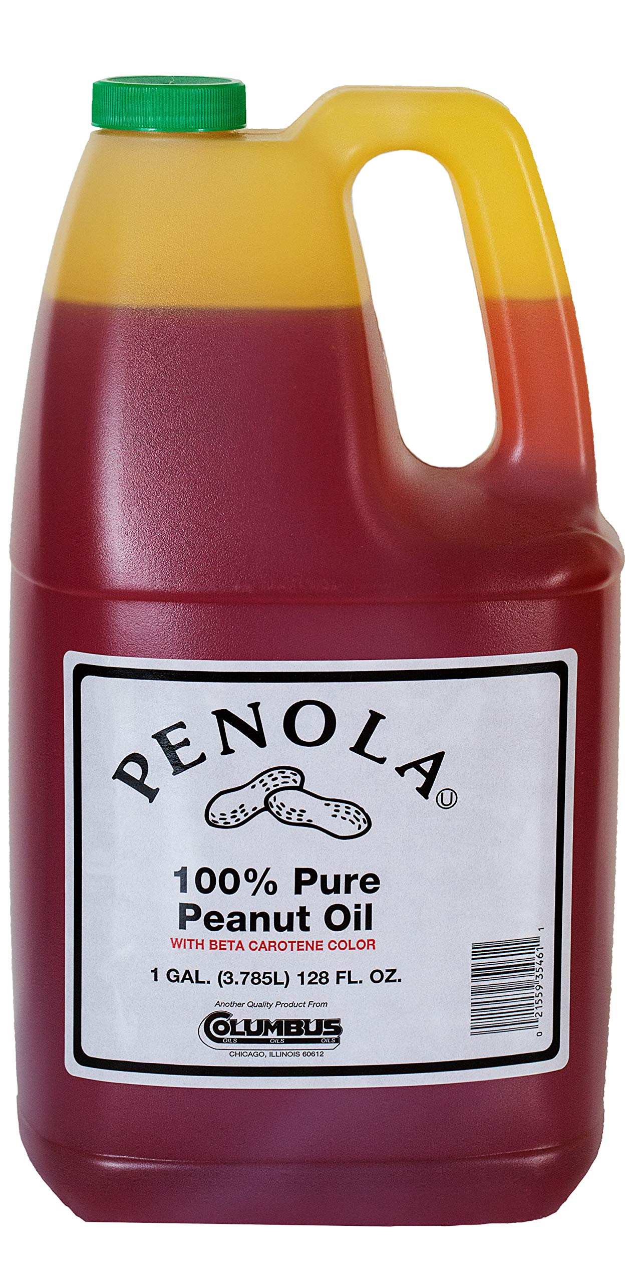Amish Country Popcorn - Peanut Oil (1 Gallon) - Old Fashioned with Recipe Guide by Amish Country Popcorn