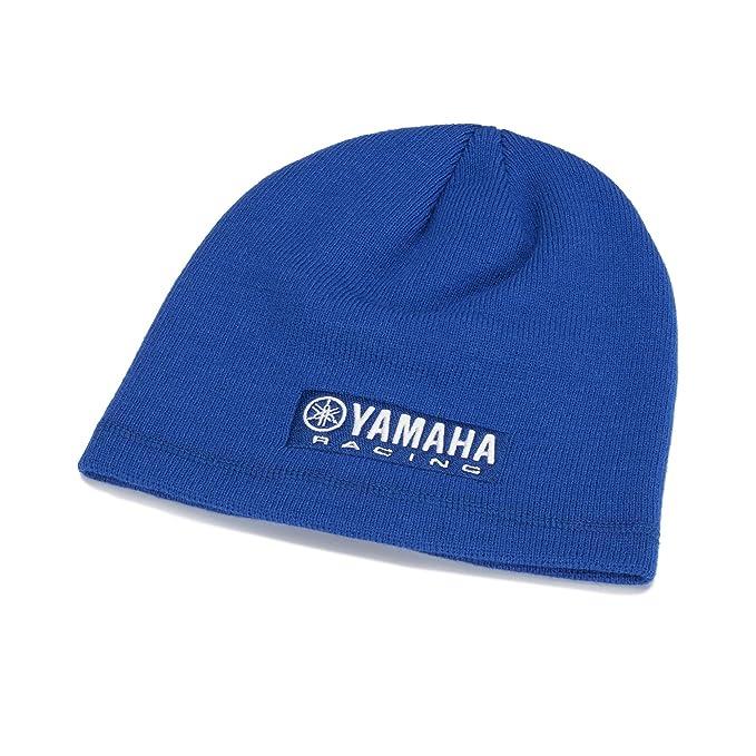 84a8f02d3bea1 Yamaha Gorro de punto para hombre azul azul Talla única DIDaboSa ...