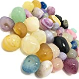 DR KITCHINDRA Natural Pebbles Decorative Stones for Home Decor (Multicolour, 950 g)