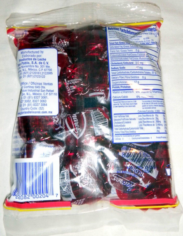 Amazon.com : 2 X Glorias De Linares Milk Candy W/pecans Dulce De Leche Con Nuez Mexican 20 Pcs Total : Grocery & Gourmet Food
