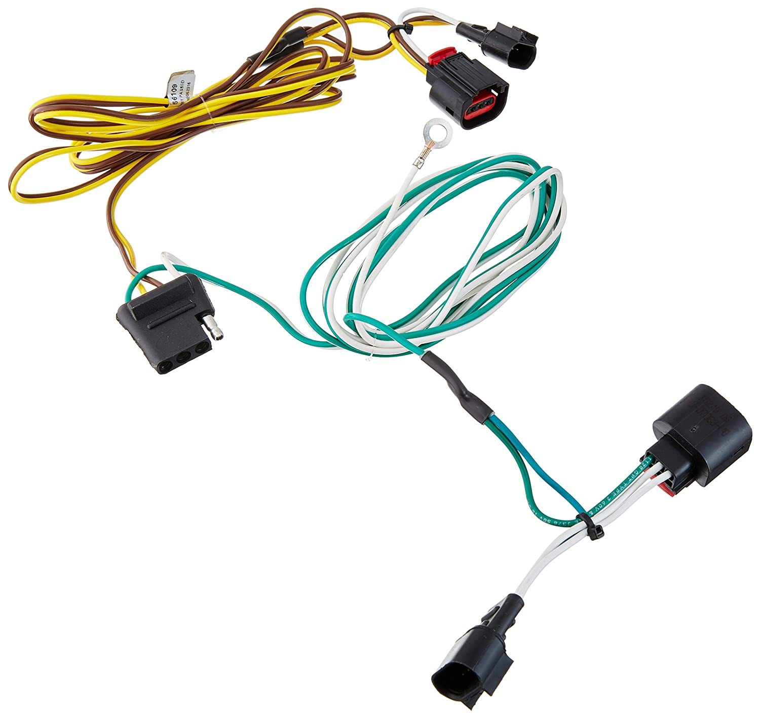Amazon.com: CURT 56109 Custom Vehicle Trailer Wiring Harness for Towing:  Automotive