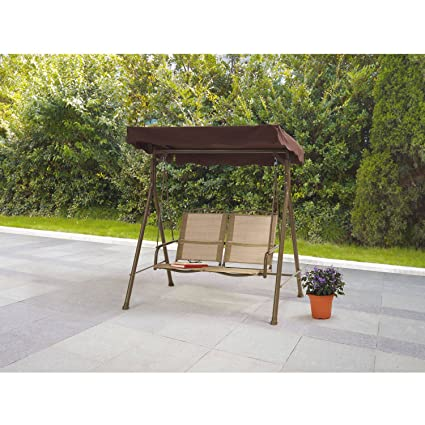 dune outdoor furniture. Fine Furniture Mainstays Sand Dune 2Seat Sling Swing Comfortable Ventilated Seat  Polyester Fabric Powder Coating And Outdoor Furniture T