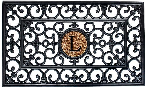 Calloway Mills 102442436 Texas Doormat, 24 x 36 , Natural Black