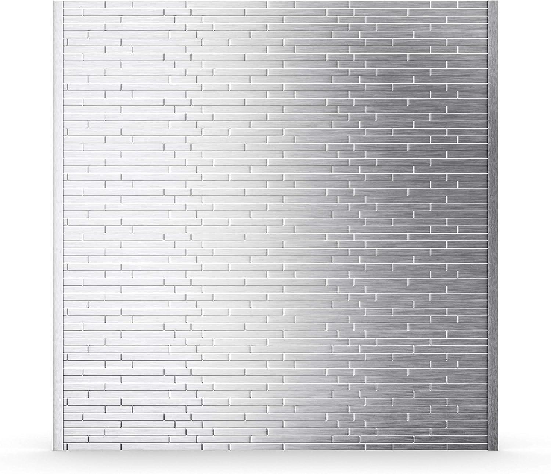 - Linox Stainless 29.61 In. X 30.75 In. X 5 Mm Metal Self-Adhesive