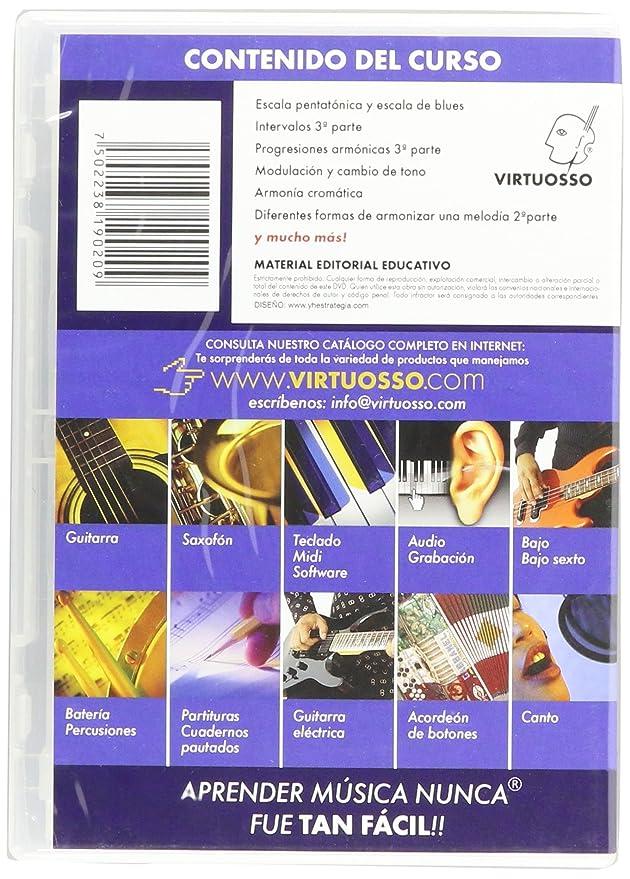 Amazon.com: Virtuosso Harmony Method for Musical Keyboard Vol.3 (Curso De Armonía En Teclado Vol.3) SPANISH ONLY: Musical Instruments