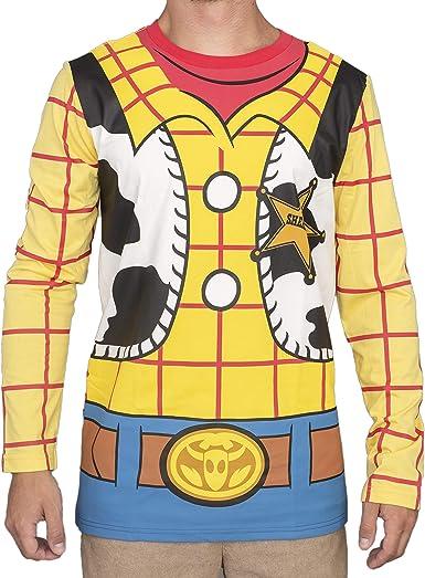 Mad Engine Toy Story I Am Woody - Camiseta de Manga Larga para ...