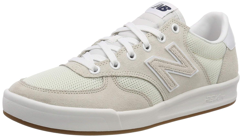 Weiß (Sea Salt Weiß Hm) New Balance Herren Crt300 Turnschuhe, Weißszlig; pastellgelb