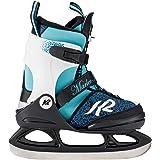 K2 Mädchen Marlee Ice Schlittschuh, Schwarz Blau Hellblau
