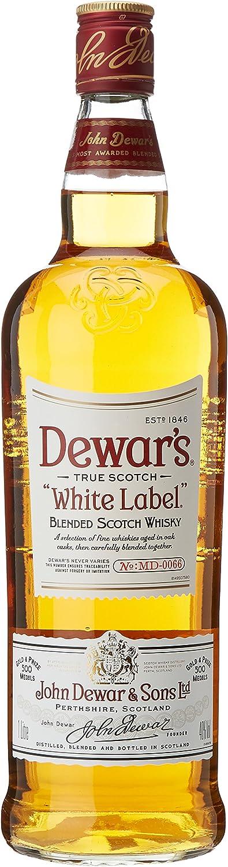 White Label Whisky - 1 l: Amazon.es: Alimentación y bebidas