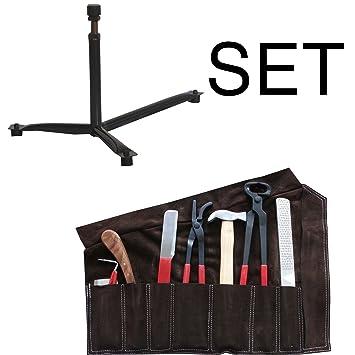 Amesbichler - Juego de herramientas para herrar, con estuche ...