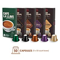 Amazon.com deals on Don Francisco's and Cafe La llave Espresso Capsules 50-Pods