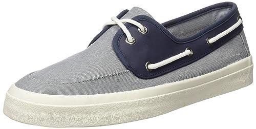 Springfield Nautico Canvas Combi, Zapatillas para Hombre, Azul (Blue), 40 EU: Amazon.es: Zapatos y complementos