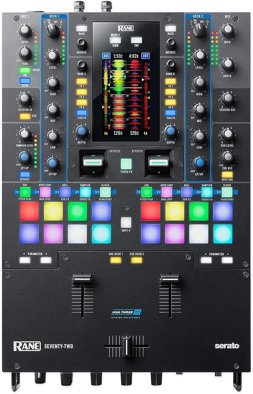 2 Moving Heads+ Twelve Turntables+ 2 2 RANE SEVENTY-TWO DJ Mixer+ Wash Lights