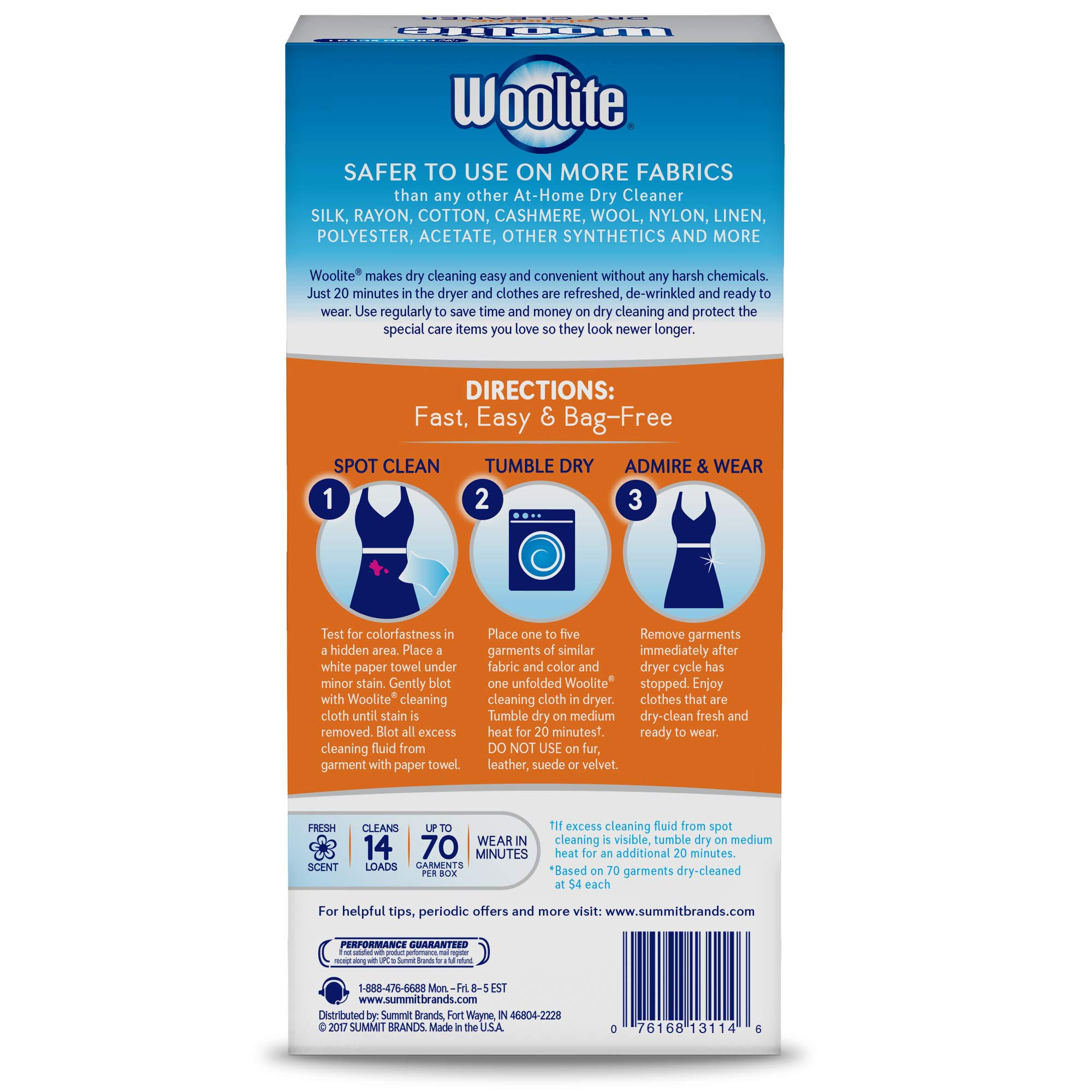 Woolite at-Home Dry Cleaner, Fresh Scent, 28 Cloths by Woolite (Image #3)