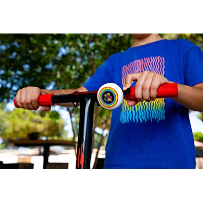 *DayJayAmerican Star or Rainbow Flower Bicycle//Scooter BellRinging Sound*