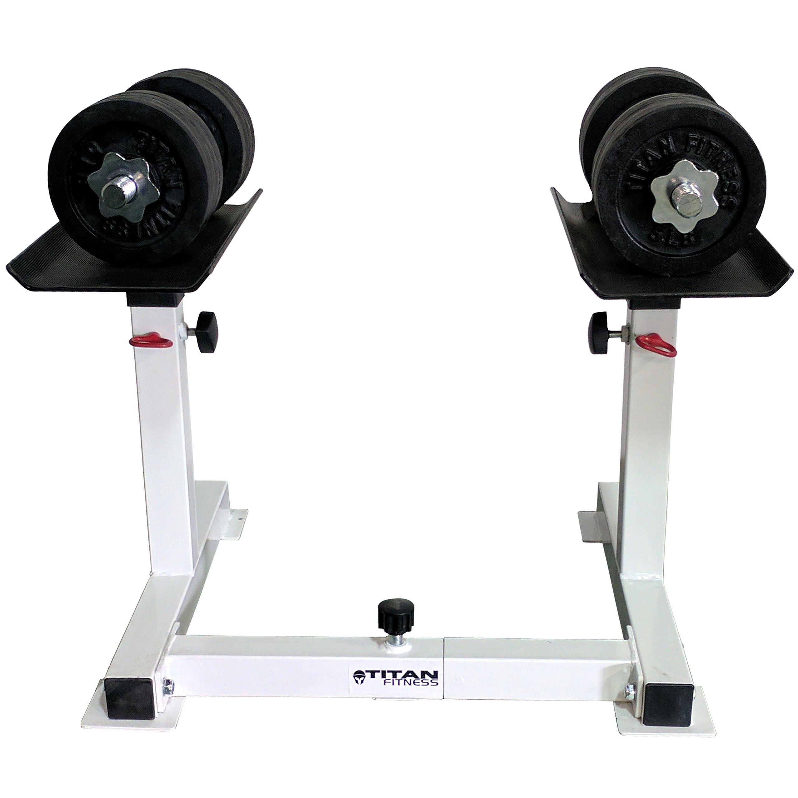 Titan Adjustable Height Dumbbell Holder by Titan Fitness (Image #5)