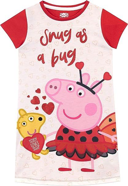 Peppa Pig Camisón para niñas: Amazon.es: Ropa y accesorios