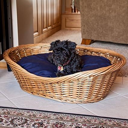 Amazon.com: Snoozer mimbre cesta para perro y cama, grandes ...