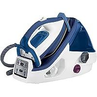 Calor GV8931C0 Centrale Vapeur Haute Pression Pro Express Control Plus 6,5 bars 3 Réglages Automatiques 2400W Générateur Repassage Bleu