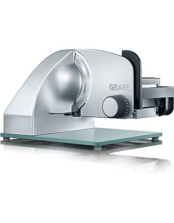 Graef M20EU - Cortafiambre, 230 V, 50 Hz, plateado