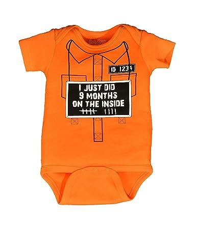 602f936ab Sara Kety Funny Baby Romper for Newborn Girls & Boys Jail Jumpsuit (06–12