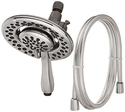 Delta 75483D 4-Spray Touch Clean In2ition 2-in-1 Hand Held Shower ...