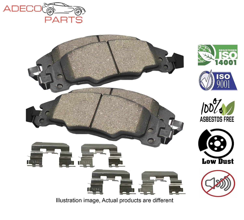 AdecoAutoParts /© Premium Front Brake Pad Kit CKD1543 for Hyundai Elantra Veloster Kia Forte 2012-2014