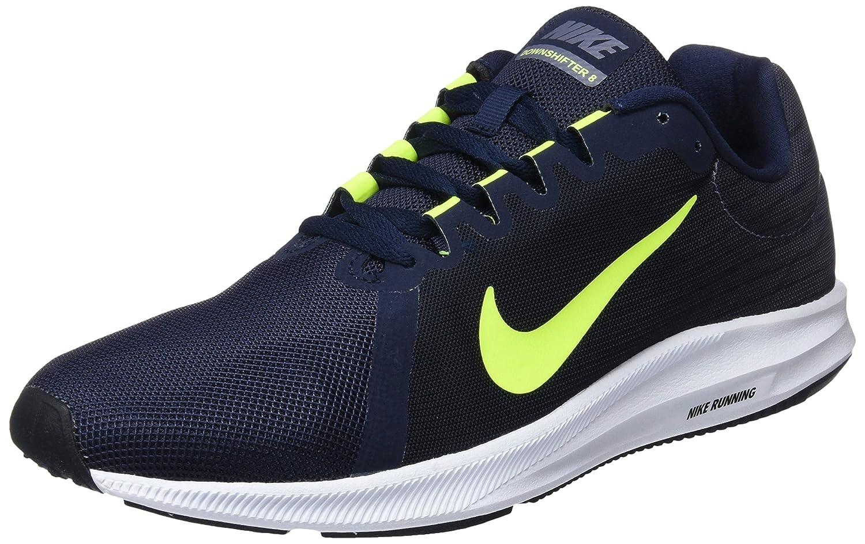 Nike Downshifter 8, Zapatillas de Deporte para Hombre 43 EU|Gris (Light Carbon/Volt-obsidian-black 007)