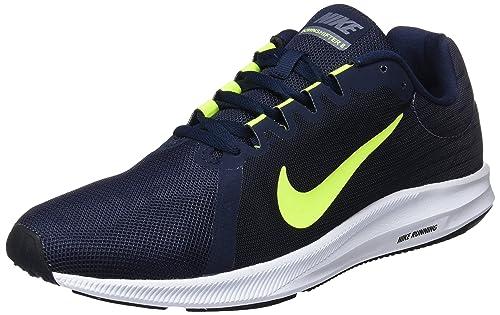 meet b1b0c 5b5ab Nike Downshifter 8, Scarpe Running Uomo, Multicolore (Light  Carbon Volt Obsidian