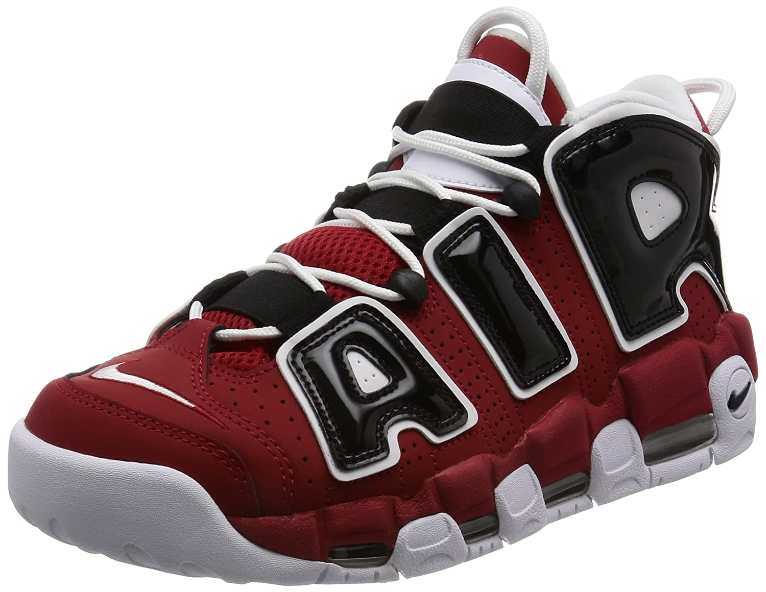 new lower prices shades of multiple colors NIKE Mens Air More Uptempo Mid Basketball Shoe