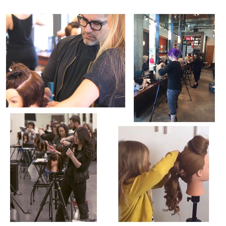 Maniquí de Cabeza para practicas de peluquería con cabello pelo real 50% 60cm (con soporte)-CoastaCloud