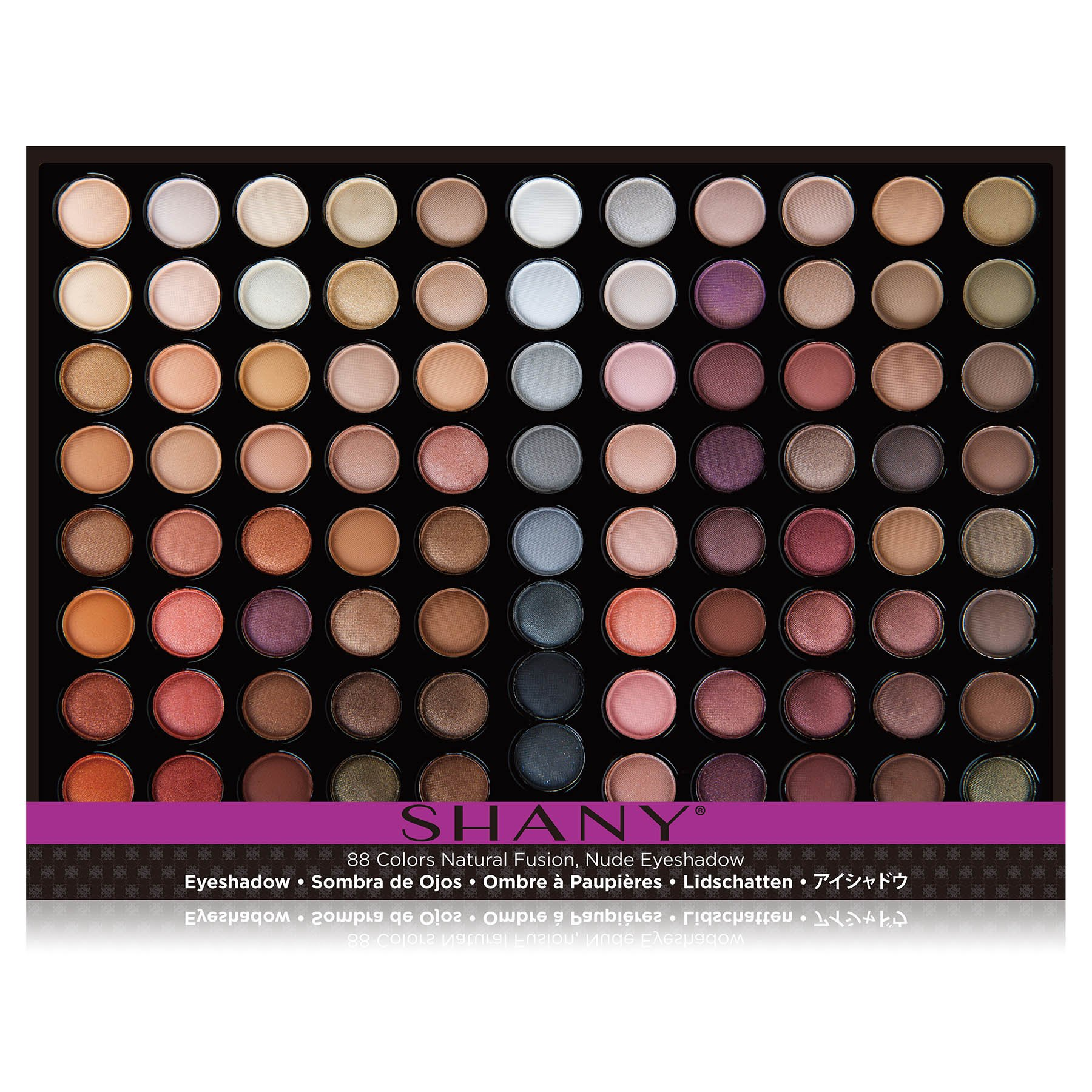SHANY Natural Fusion Eyeshadow Palette (88 Color Eyeshadow Palette, Nude Palette), 2.15 Ounce by SHANY Cosmetics (Image #3)