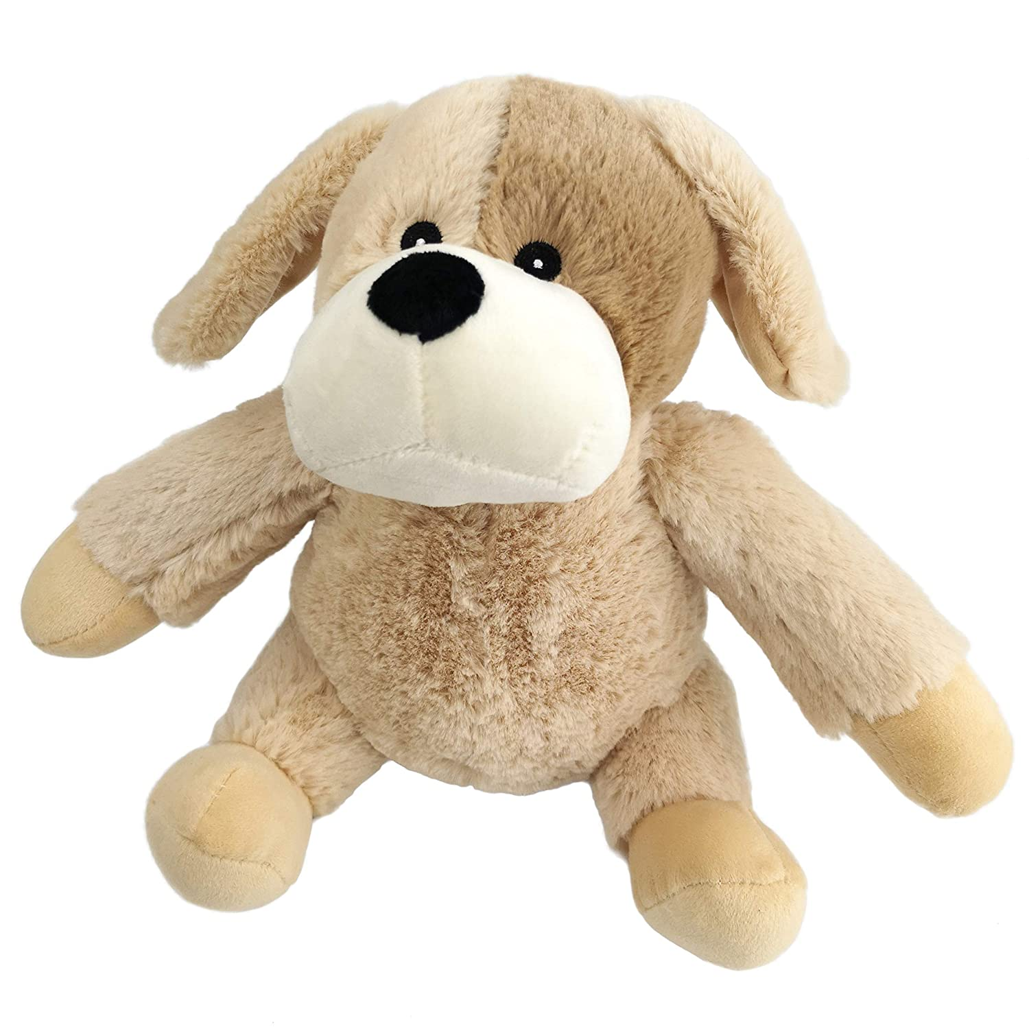 f0505b933d43 Amazon.com: Bstaofy Microwavable Plush Puppy Heatable Pal Stuffed Animal  Cozy Hot&Cold Therapy, Light Brown (Puppy): Toys & Games