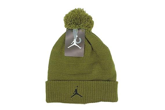 dc6dc34feacc0 Amazon.com: Nike Jordan Jumpman Boys Winter Ski Snowboard Cuffed Hat ...