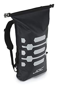 JDC Mochila para Moto 100% Impermeable Bolsa Resistente al Agua 30L- Negra: Amazon.es: Coche y moto