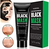 Vassoul Blackhead Remover Mask, Deep Pore Cleansing for Face Nose Acne Treatment Oil Control