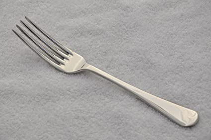 Nuevo fantástico Viejo Inglés patrón bañado en plata mesa tenedor SHEFFIELD