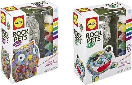 Rock Pets Paint Kit-owl