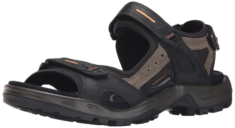 Ecco Herren Offroad Outdoor Sandale  45 EU|Schwarz (50034black/Mole/Black)