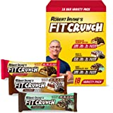 Fit Crunch Protein Bars, Snack Size Variety Pack, Gluten Free 18 Pack