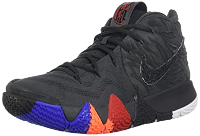 quality design d762c cc64c Image Unavailable. Image not available for. Color  NIKE Men s Kyrie 4  Basketball Shoes (10.5, Anthracite Black)