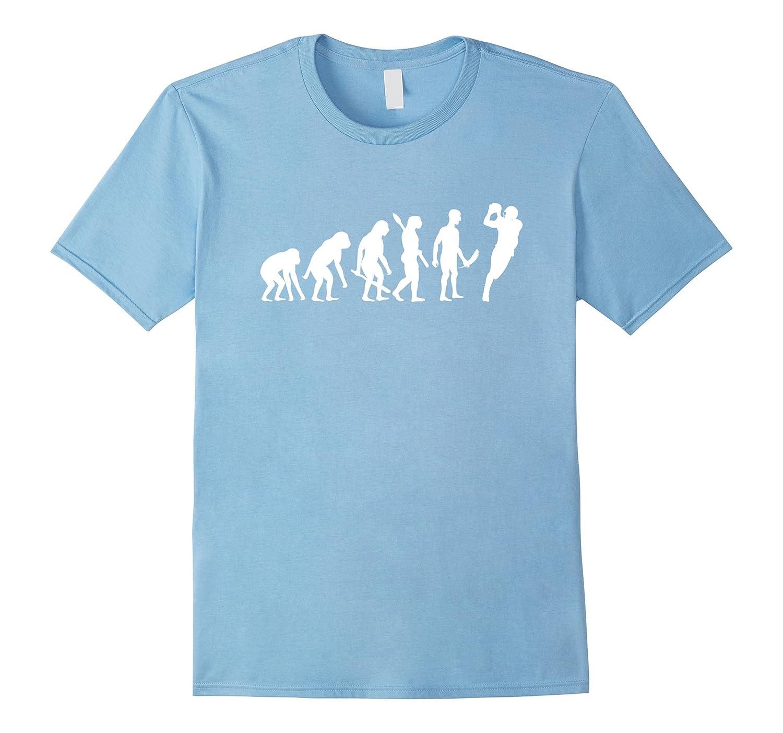 a7f2d0799b American Football Evolution T-Shirt Funny Football Tee-TH - TEEHELEN