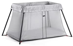 BABYBJORN Travel Crib Light, Silver