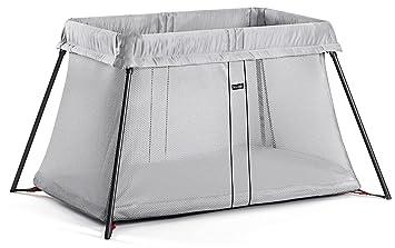 7150c55a8d3 Amazon.com   BABYBJORN Travel Crib Light - Silver   Baby